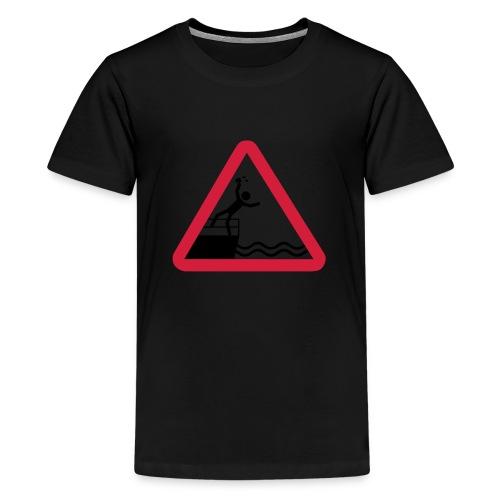 Bitte kein Bier Verschütten! - Teenager Premium T-Shirt
