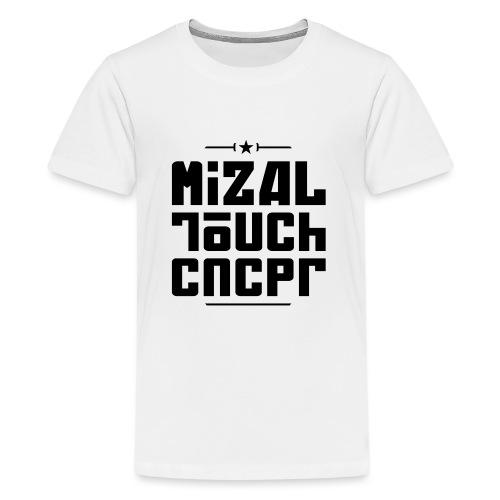 Logo MiZAL Touch Concept - Koszulka młodzieżowa Premium