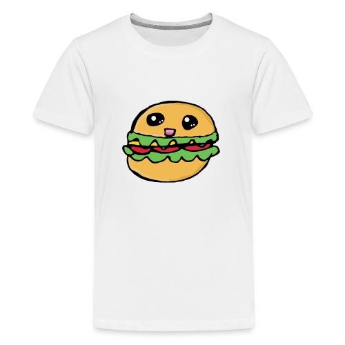 Hamburger kawai - T-shirt Premium Ado