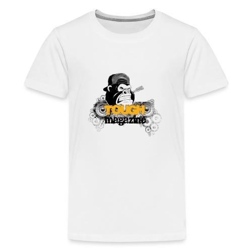 Tough Magazine - Logo - Gorilla - Teenager Premium T-Shirt