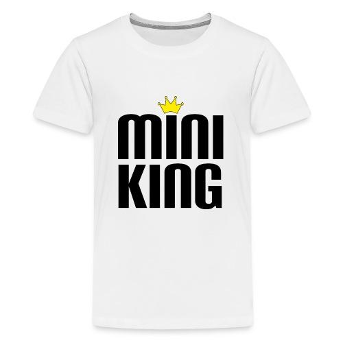 MiniKing Baby Kleinkind Geschenk - Teenager Premium T-Shirt