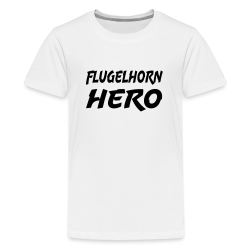 Flugelhorn Hero - Premium T-skjorte for tenåringer