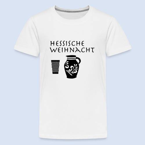 Hessische Weihnachten - Teenager Premium T-Shirt