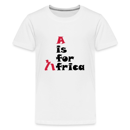 aisforafrica2 - Teenage Premium T-Shirt