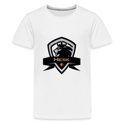 lakingsnewslogo1 png - Teenager Premium T-Shirt