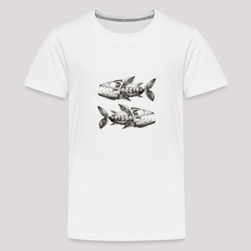 FishEtching - Teenage Premium T-Shirt