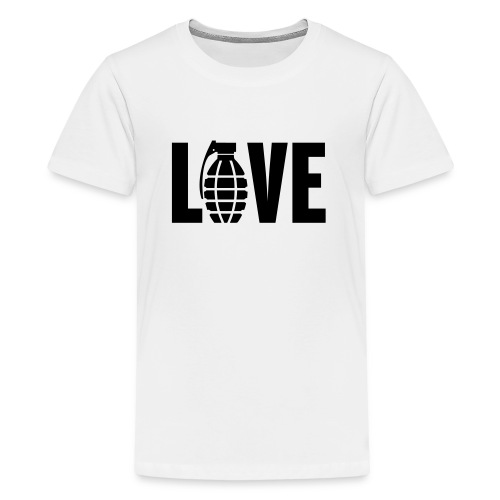 LOVE Grenade - Teenage Premium T-Shirt