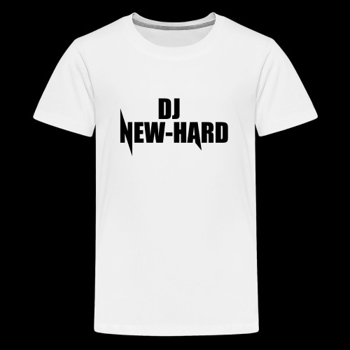DJ NEW-HARD LOGO - Teenager Premium T-shirt