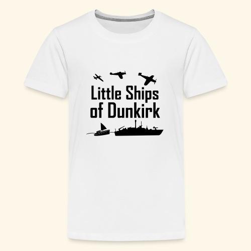 Little Ships of Dunkirk - T-shirt Premium Ado