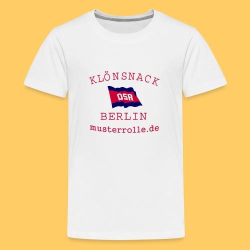 KiB-Logo-gif - Teenager Premium T-Shirt