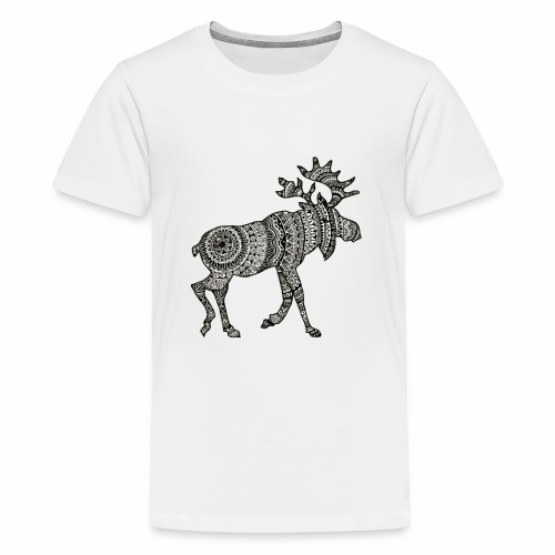 Ethno - Moose - Teenager Premium T-Shirt