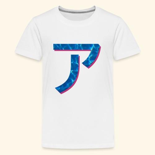 ア logo - T-shirt Premium Ado