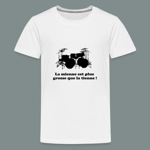 La mienne est plus grosse - T-shirt Premium Ado