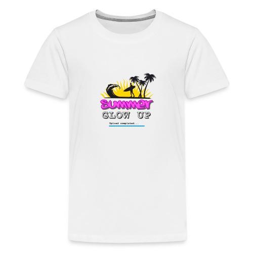 Summer Glow Up - Teenager Premium T-Shirt