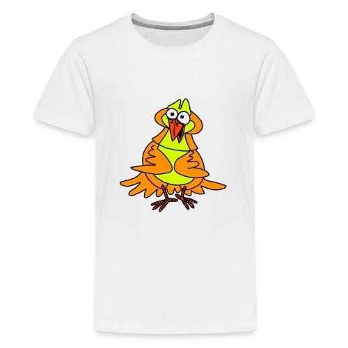 Vogel Nr 3 von dodocomics - Teenager Premium T-Shirt