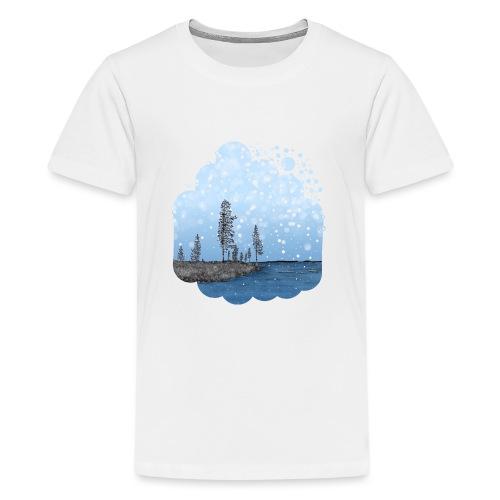 Première neige - T-shirt Premium Ado