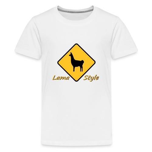 Lama Style - T-shirt Premium Ado
