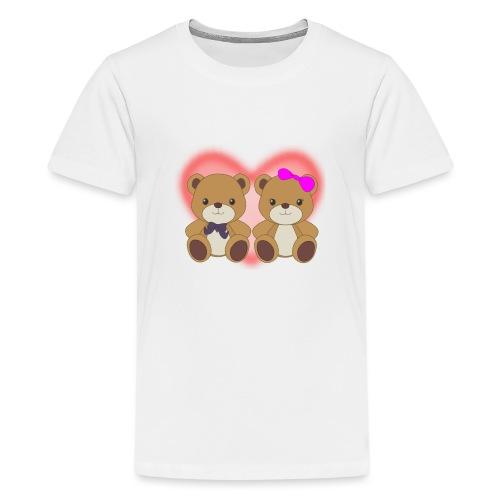 Orsetti con cuore - Maglietta Premium per ragazzi