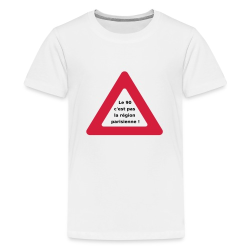 90_pas_region_parisienne - T-shirt Premium Ado