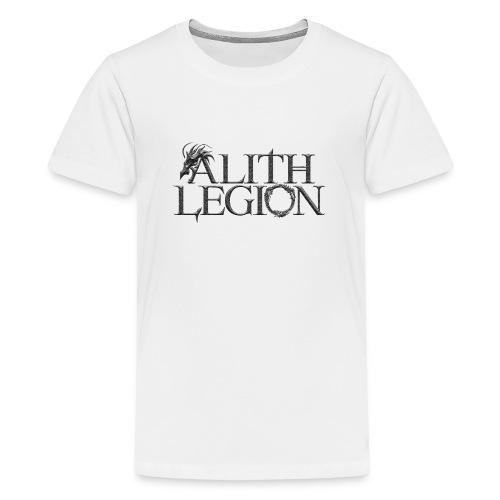Alith Legion Dragon Logo - Teenage Premium T-Shirt