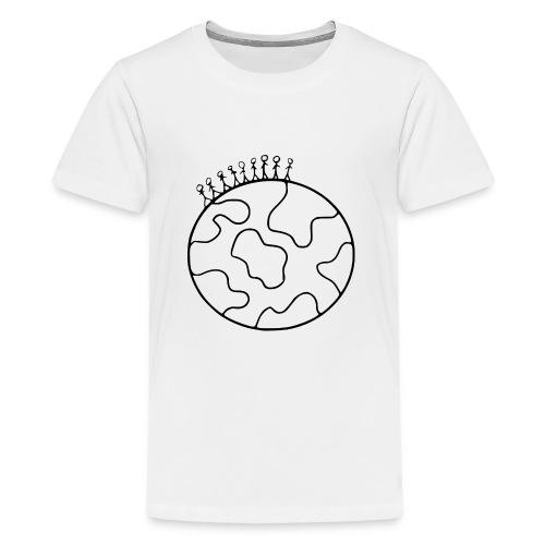 On Top Of The World - Teenage Premium T-Shirt