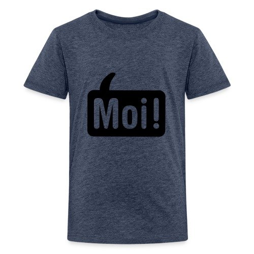 hoi shirt front - Teenager Premium T-shirt