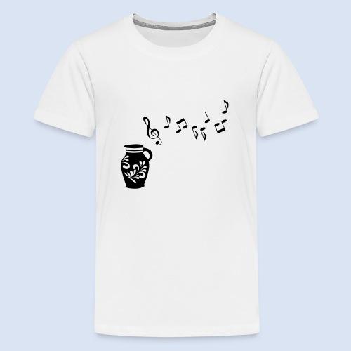 Frankfurter Musik Bembel - Teenager Premium T-Shirt