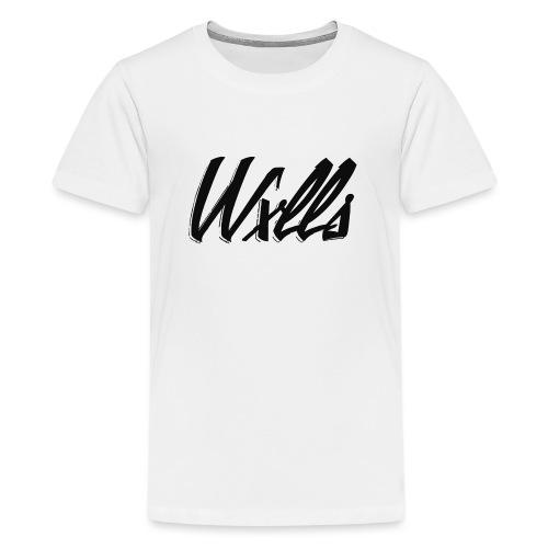WxllsApparel #1 - Teenage Premium T-Shirt