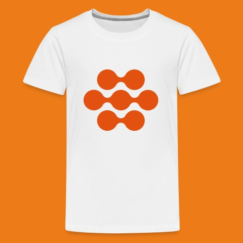 seed madagascar logo squa - Teenage Premium T-Shirt