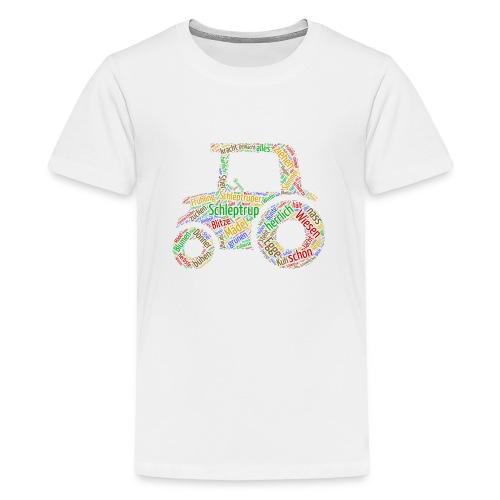 Schleptrup Trecker - Teenager Premium T-Shirt