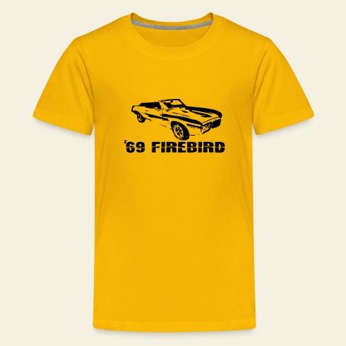 firebird small - Teenager premium T-shirt