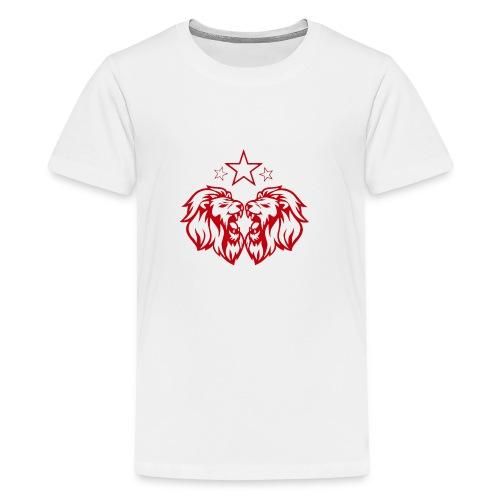 BS Lion rouge - T-shirt Premium Ado