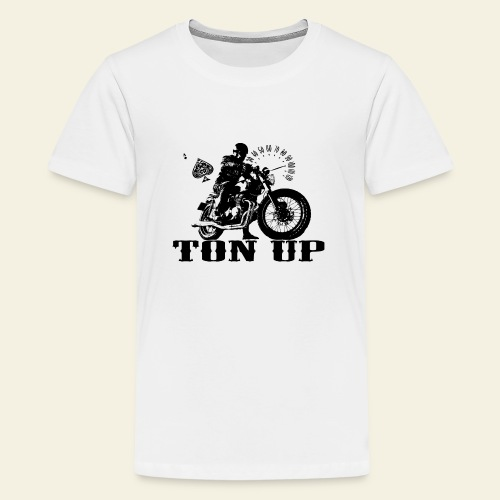 ton up black - Teenager premium T-shirt
