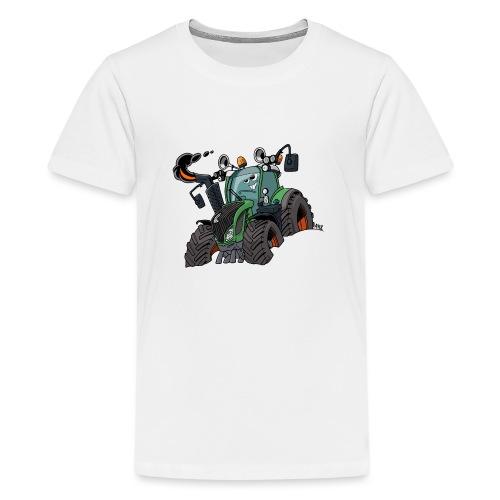 F 718Vario zonder kar - Teenager Premium T-shirt