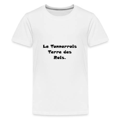 Le Tonnerrois Terre de Rois - T-shirt Premium Ado