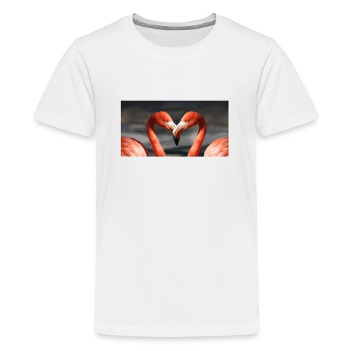 flamingo - Teenager Premium T-Shirt