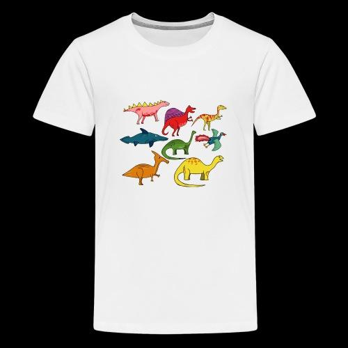 Dinos - Teenager Premium T-Shirt