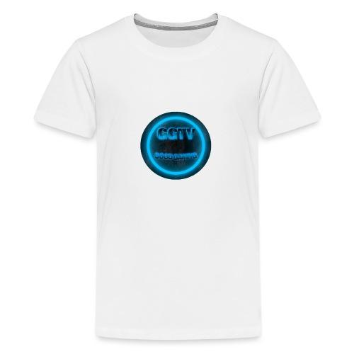NEW LOGO 1 Blue - Teenage Premium T-Shirt