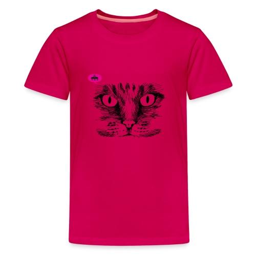 kattegezicht vdh - Teenager Premium T-shirt