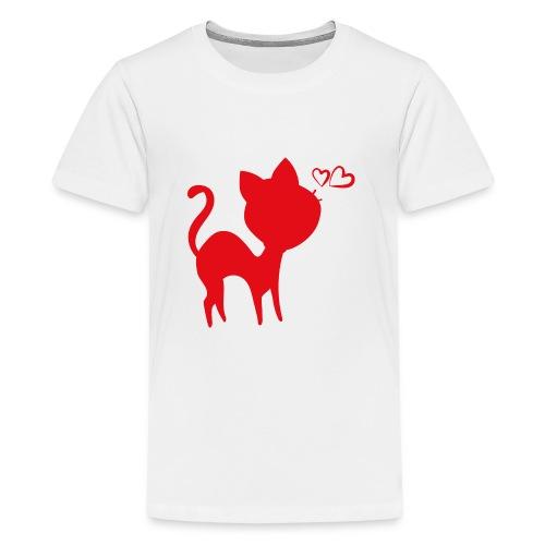 cat - T-shirt Premium Ado