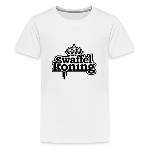 SwaffelKoning - Teenager Premium T-shirt