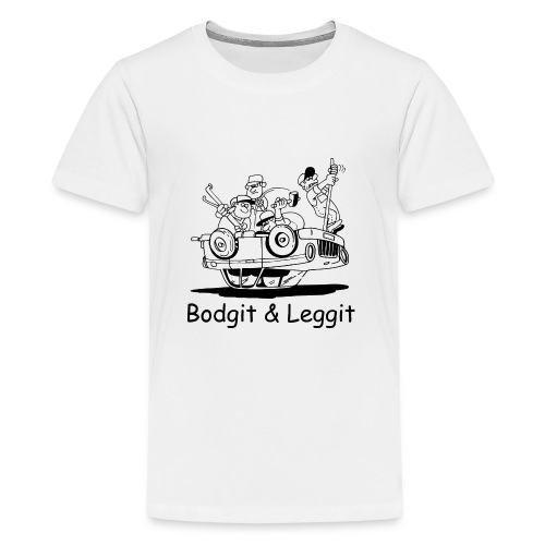 BGLOGOTEST gif - Teenage Premium T-Shirt