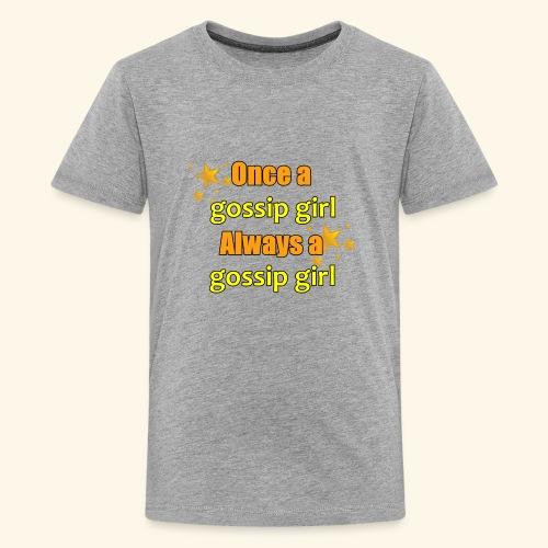 Gossip Girl Gossip Girl Shirts - Teenage Premium T-Shirt