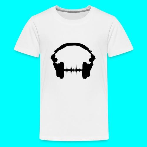 Kopfhörer - Teenager Premium T-Shirt