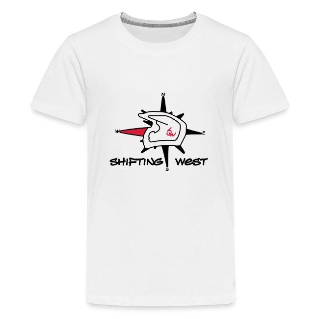 Shifting West Logo vector