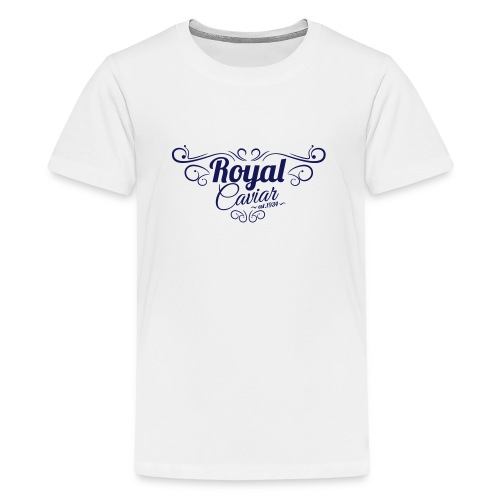 Royal Caviar Logo - Teenager Premium T-Shirt