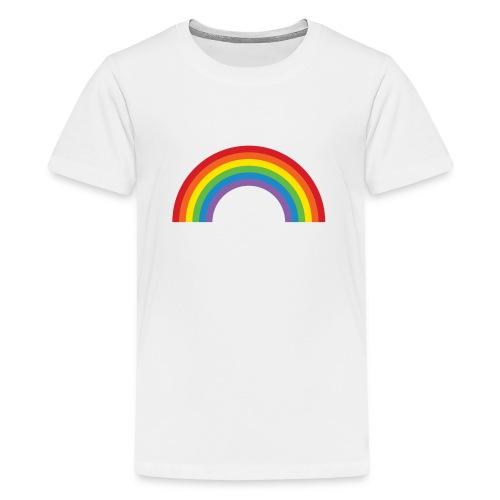 Rainbow - Teenage Premium T-Shirt