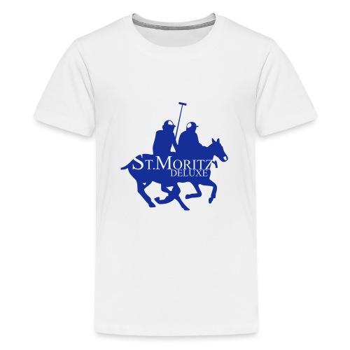 St-Moritz-Motiv 1 - Teenager Premium T-Shirt