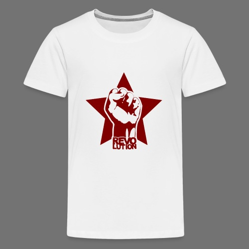 Vallankumous - Teinien premium t-paita