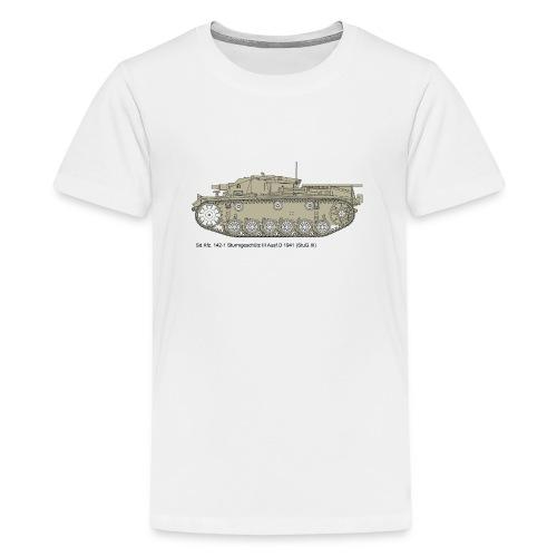 Stug III Ausf D. - Teenager Premium T-Shirt